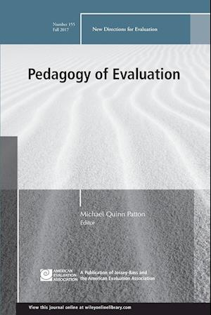 Bog, paperback Pedagogy of Evaluation af Michael Quinn Patton