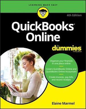 Bog, paperback Quickbooks Online for Dummies af Elaine Marmel