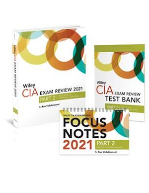 Wiley CIA Exam Review 2021 + Test Bank + Focus Notes: Part 2, Practice of Internal Auditing Set