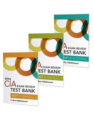 Wiley CIA Exam Review Test Bank 2021: Complete Set (2-year access)