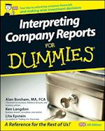 Interpreting Company Reports For Dummies af Ken Langdon
