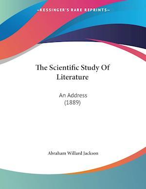 The Scientific Study Of Literature