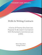 Drills in Writing Contracts af George H. Rowe, Harry Marc Rowe