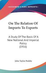 On the Relation of Imports to Exports af John Taylor Peddie