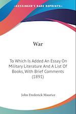 War af John Frederick Maurice