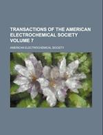 Transactions of the American Electrochemical Society Volume 7 af American Electrochemical Society
