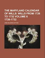 The Maryland Calendar of Wills Volume 6 1726-1732 af Jane Baldwin Cotton