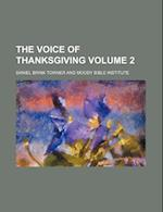 The Voice of Thanksgiving Volume 2