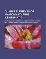 Quain's Elements of Anatomy Volume 3, af Jones Quain