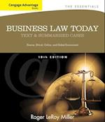 Cengage Advantage Books: Business Law Today, The Essentials