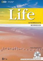 Life Intermediate: Workbook with Key and Audio CD af Helen Stephenson