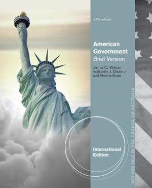 Bog, paperback American Government af James Q Wilson