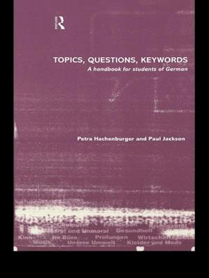 Topics, Questions, Key Words af Paul Jackson