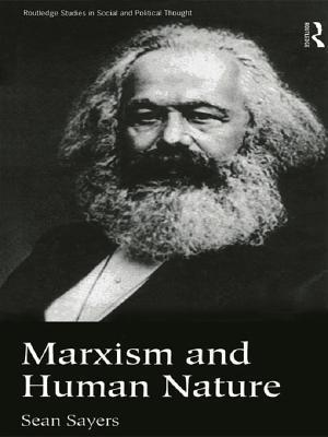 Marxism and Human Nature af Sean Sayers