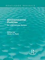 Environmental Policies (Routledge Revivals) (Routledge Revivals)