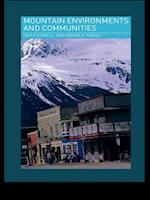 Mountain Environments and Communities