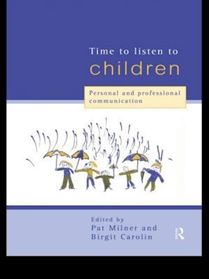 Time to Listen to Children