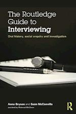 Routledge Guide to Interviewing