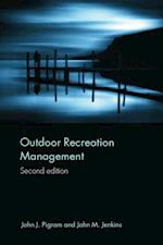 Outdoor Recreation Management af John Jenkins