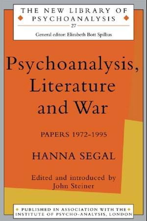 Psychoanalysis, Literature and War