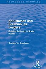 Khrushchev and Brezhnev as Leaders (Routledge Revivals) af George W. Breslauer