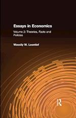 Essays in Economics: v. 2: Theories, Facts and Policies af Wassily W. Leontief
