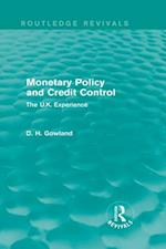 Monetary Policy and Credit Control (Routledge Revivals) (Routledge Revivals)