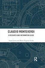 Claudio Monteverdi (Routledge Music Bibliographies)