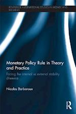 Monetary Policy Rule in Theory and Practice (Routledge International Studies in Money and Banking)