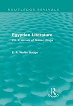Egyptian Literature (Routledge Revivals)
