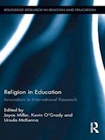 Religion in Education (Routledge Research in Religion and Education)