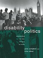 Disability Politics af Jane Campbell