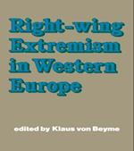 Right-wing Extremism in Western Europe af Klaus Von Beyme