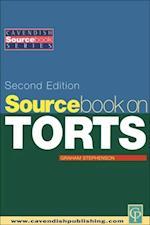 Sourcebook on Tort Law 2/e (Sourcebook Series)