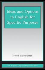 Ideas and Options in English for Specific Purposes (Esl & Applied Linguistics Professional Series)