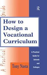 How to Design a Vocational Curriculum