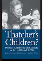 Thatcher's Children?