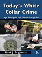 Today's White  Collar Crime (Criminology and Justice Studies)