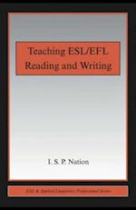 Teaching ESL/EFL Reading and Writing af I.S.P. Nation