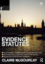 Evidence Statutes 2012-2013 (Routledge Student Statutes)