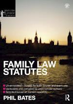 Family Law Statutes 2012-2013 (Routledge Student Statutes)