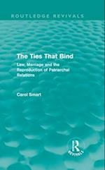 Ties That Bind (Routledge Revivals) (Routledge Revivals)