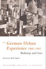 German Urban Experience af Anthony Mcelligott