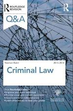 Q&A Criminal Law 2013-2014 (Questions and Answers)