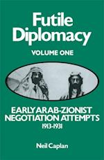 Early Arab-Zionist Negotiation Attempts, 1913-1931