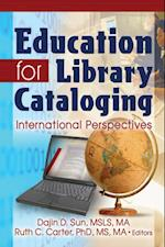 Education for Library Cataloging