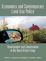 Economics and Contemporary Land Use Policy