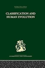 Classification and Human Evolution