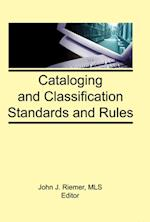 Cataloging and Classification Standards and Rules