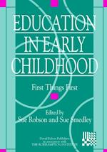 Education in Early Childhood